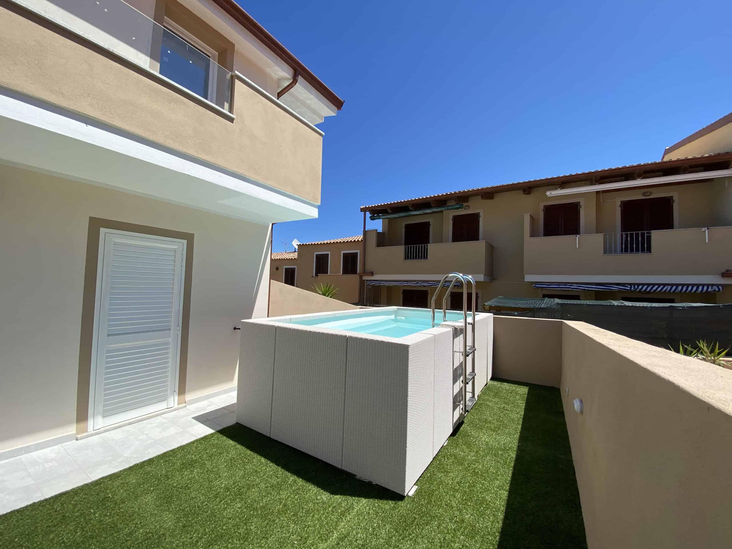 La Conchiglia con piscina privata